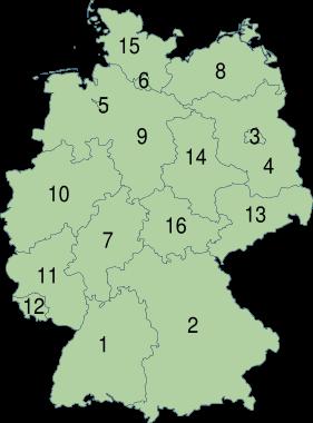 Bundesländer Deutschland