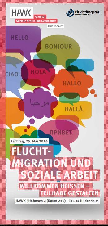 fachtagung fluchtmigration und soziale arbeit willkommen