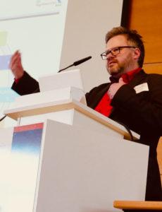 Markus Saxinger auf der IvAF-Tagung 07.02.2019