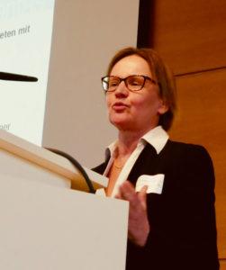 Dr. Barbara Weiser auf der IvAF-Tagung 07.02.2019