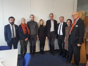 Delegationsbesuch beim Flüchtlingsrat Niedersachsen